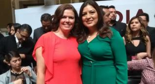 Monica Prida y Claudia Rivera